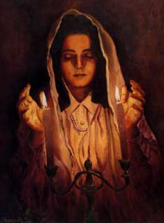Traditonal Orthdox Jewish wife