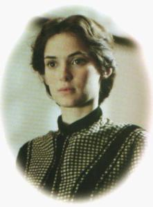 Winona Ryder as Jo from Little Women